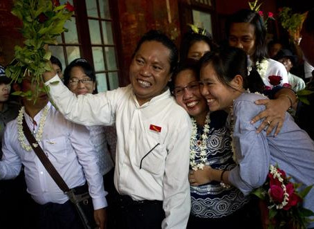 Myanmar—Lin Htet Naing and Phyoe Phyoe Aung Released
