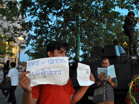 Thai Activist Indicted Over Distributing Leaflets
