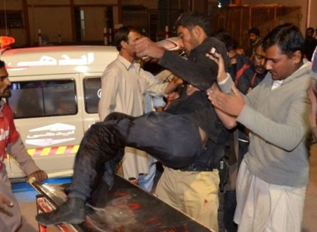 Quetta Attack—Militants Kill at Least 61 People and Injure at Least 120