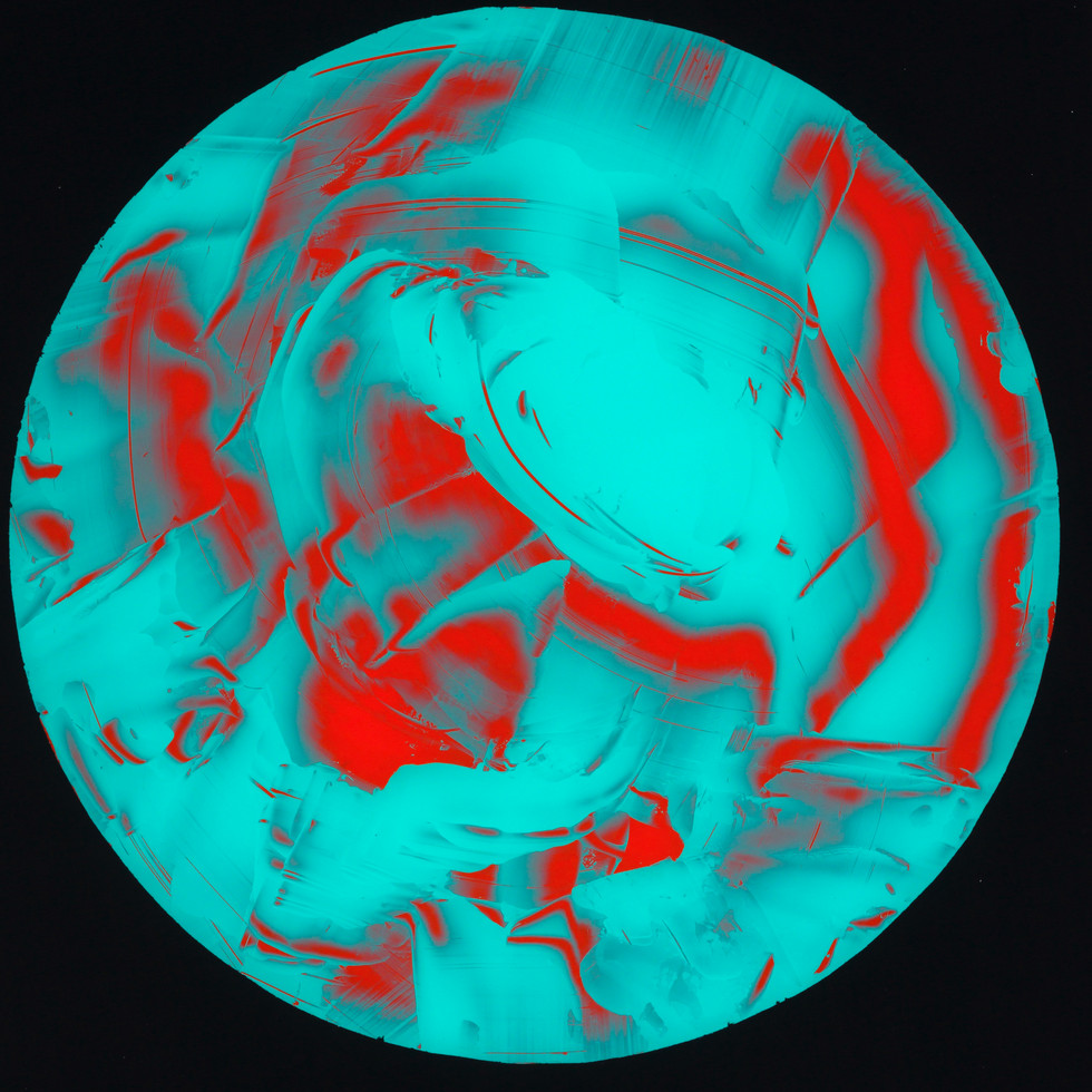 Undiscovered Planet Painting