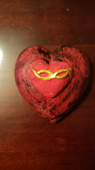 Corazón Rojo Infinito