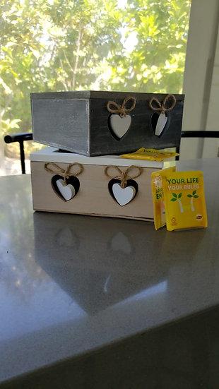 Cajas deTé Corazón