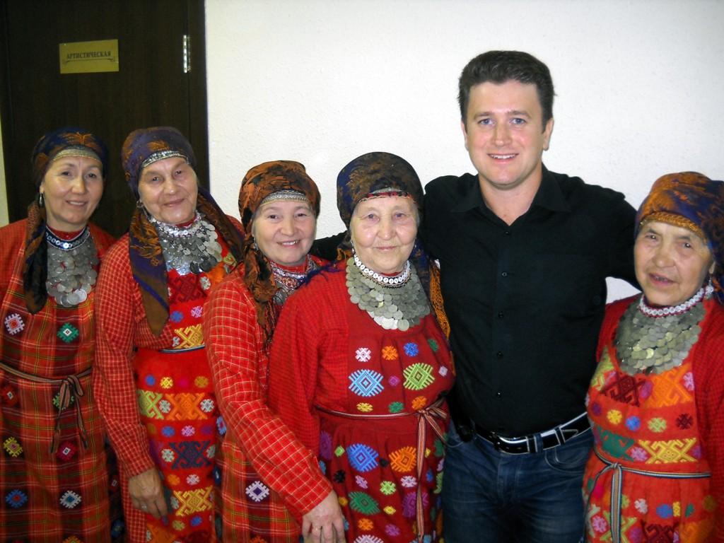 Ведущий концерта в Ижевске
