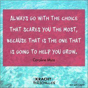 Keuzes maken geeft ruimte.