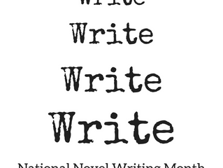 NaNoWriMo. And a New Book Title!
