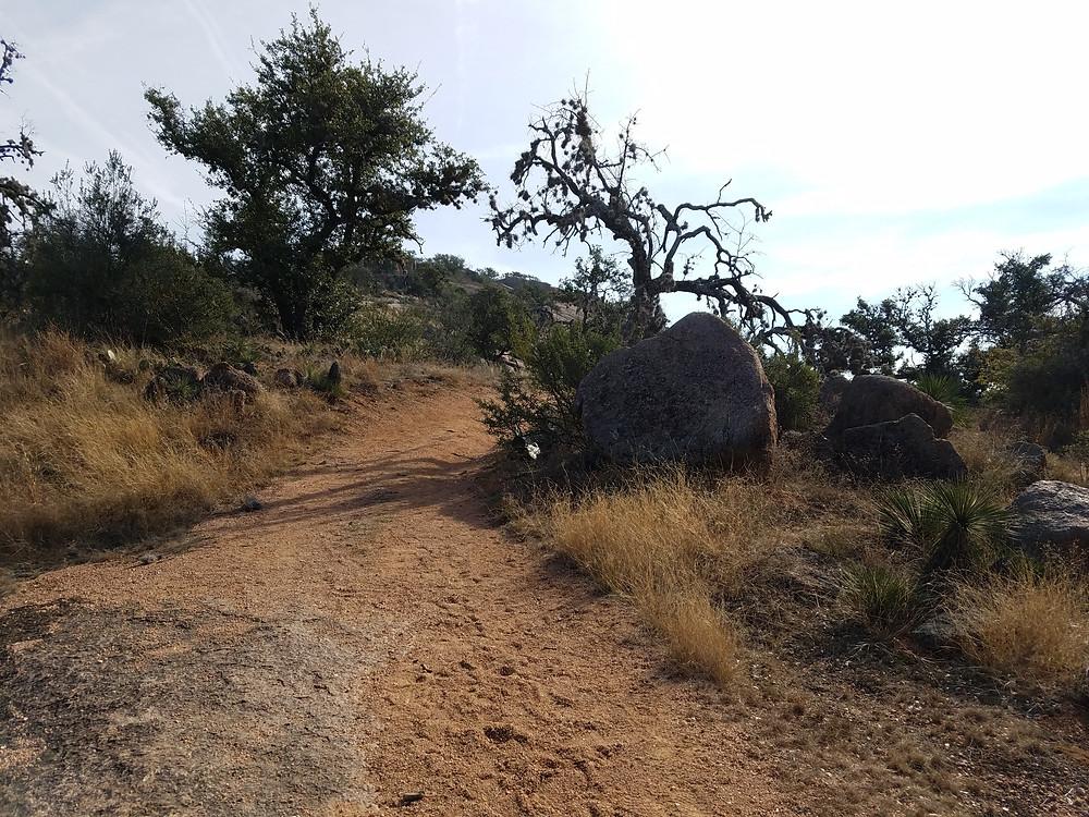 Enchanted Rock, hiking