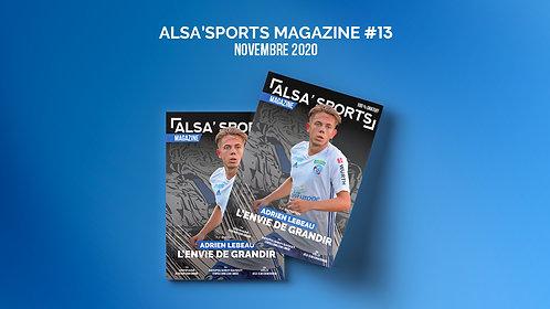 Alsa'Sports Magazine Novembre 2020