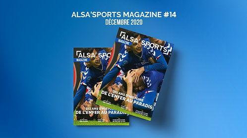 Alsa'Sports Magazine Décembre 2020