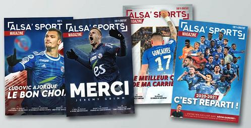 Pack collectionneur Alsa'Sports Magazine 2019/2020