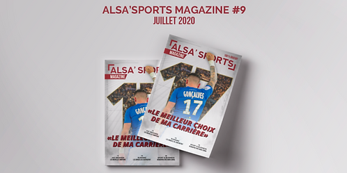 Alsa'Sports Magazine Juillet 2020