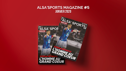 Alsa'Sports Magazine Janvier 2020