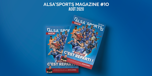 Alsa'Sports Magazine Aout 2020
