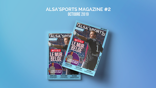 Alsa'Sports Magazine Octobre 2019