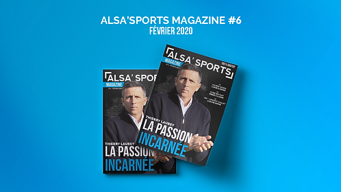 Alsa'Sports Magazine Février 2020