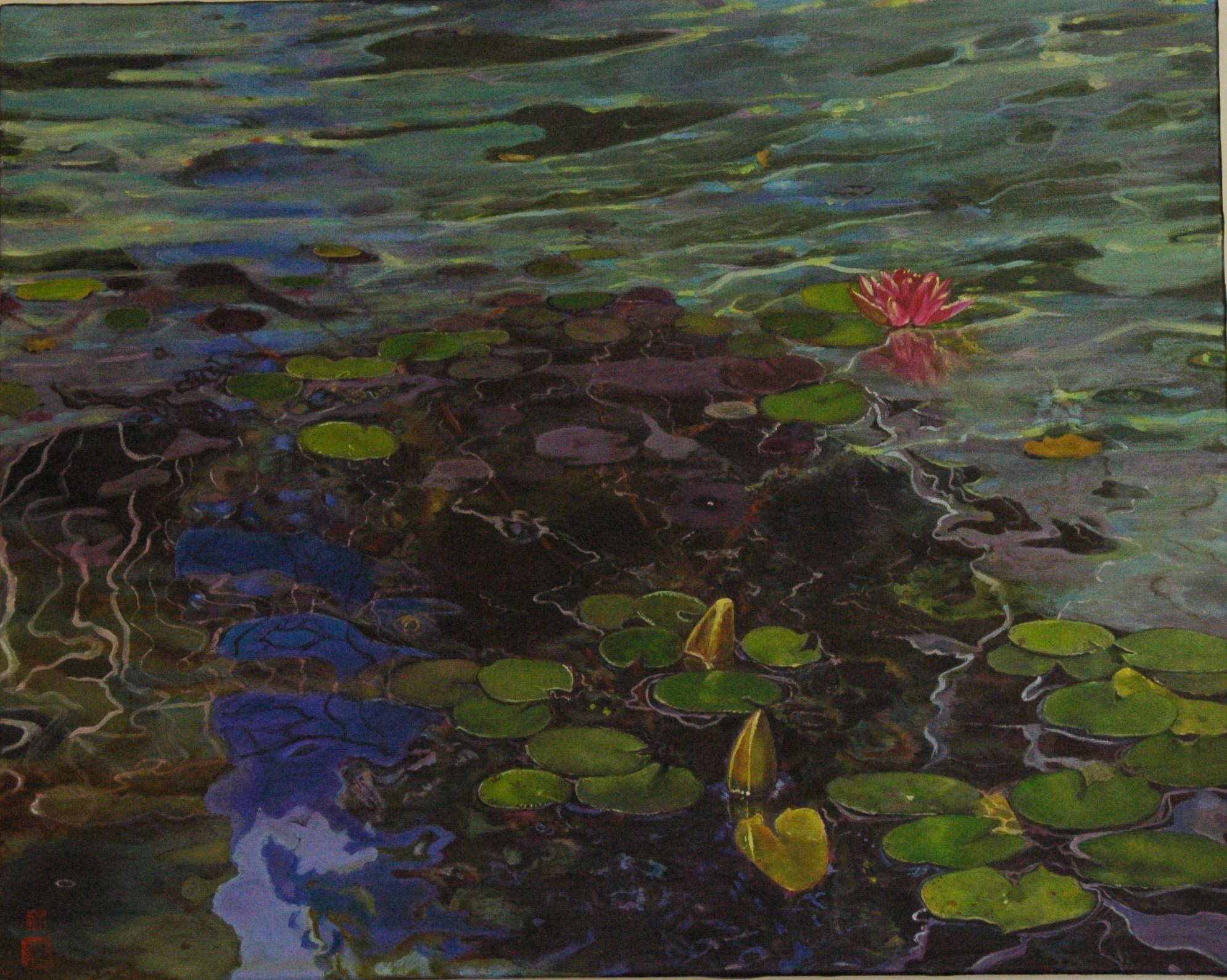 Skirball Pond
