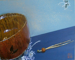 Miso Bowl with Hair Pin