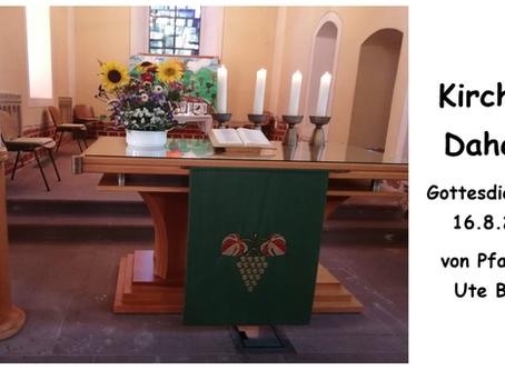 Kirche - Daheim (10. Sonntag nach Trinitatis)