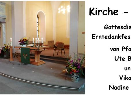 Kirche - Daheim (Erntedankfest)