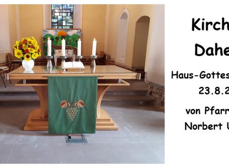 Kirche - Daheim (11. Sonntag nach Trinitatis)