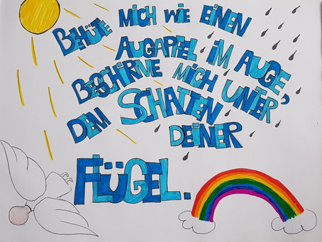 Konfi - Sprüche in Schrift & Bild