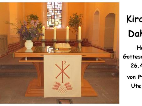 Kirche - Daheim (Misericordias Domini)
