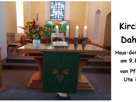 Kirche - Daheim (9. Sonntag nach Trinitatis)