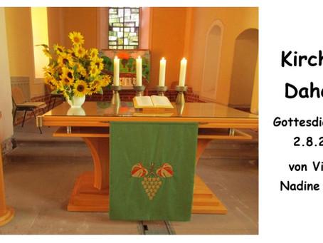 Kirche - Daheim (8. Sonntag nach Trinitatis)