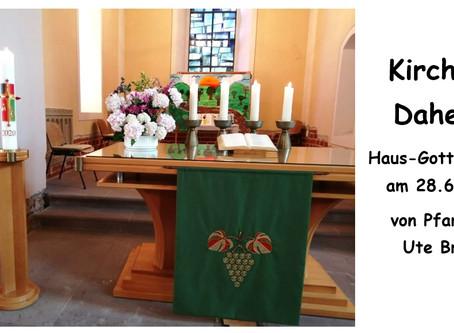 Kirche - Daheim (3.Sonntag nach Trinitatis)