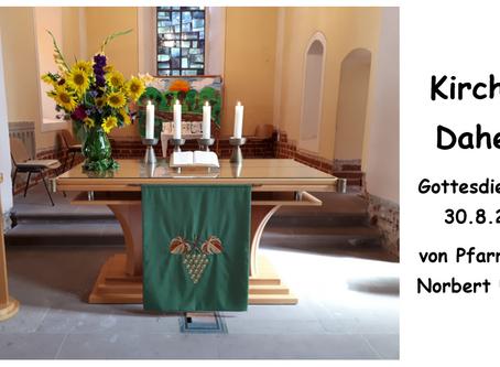 Kirche - Daheim (12. Sonntag nach Trinitatis)