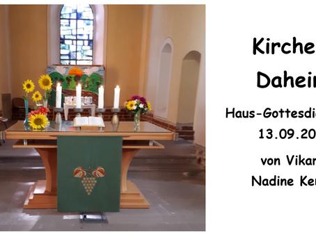 Kirche - Daheim (14. Sonntag nach Trinitatis)