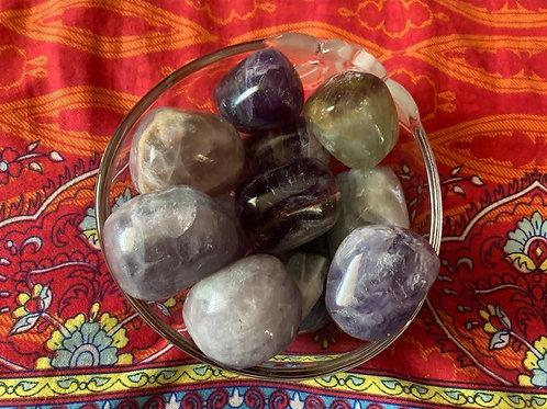 Rainbow Fluorite Tumble Stones