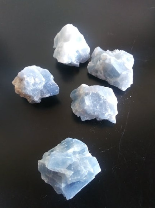 Blue Calcite Crystal