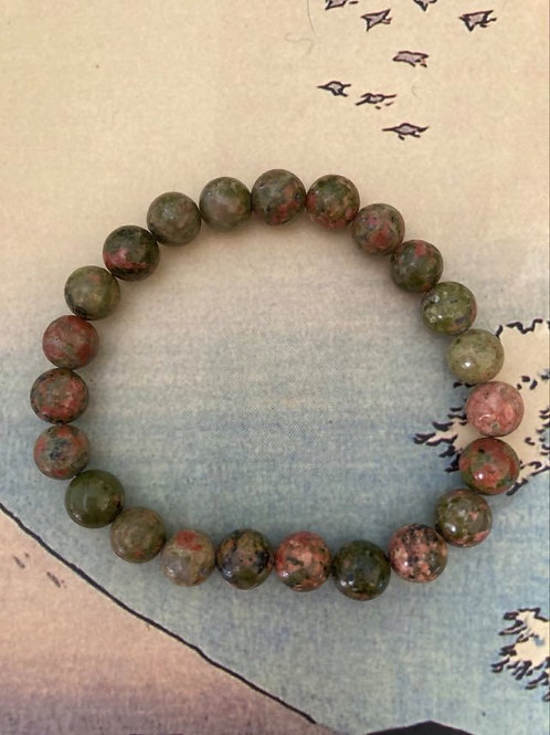 Natural Unakite