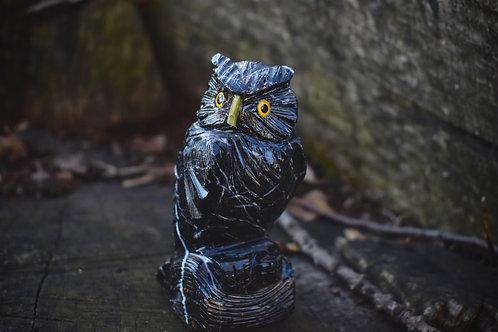 Multi Crystal Owl