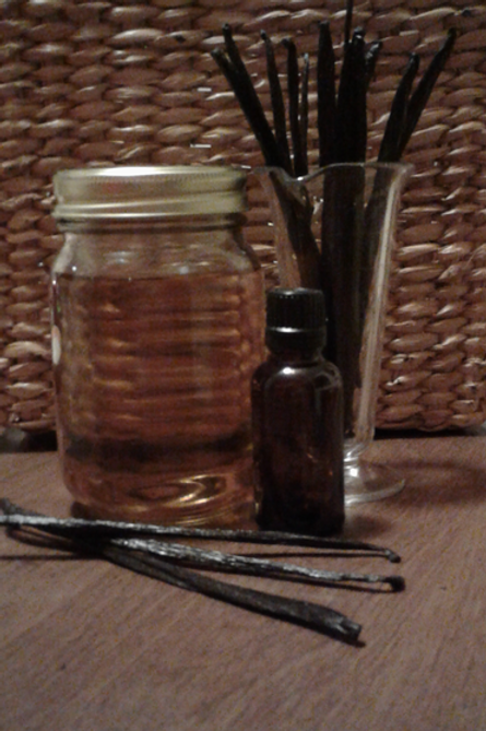 Vanilla Infused Oil