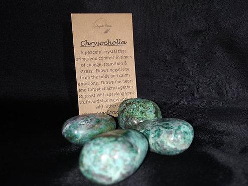 Chrysocholla Crystal