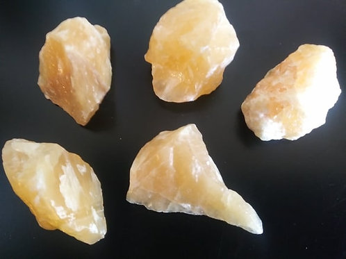 Yellow Calcite Crystal