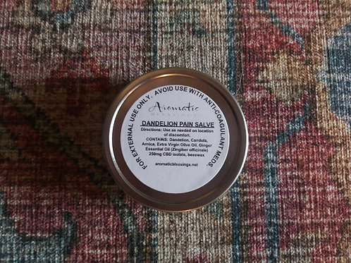 Dandelion Pain Salve with CBD Isolate