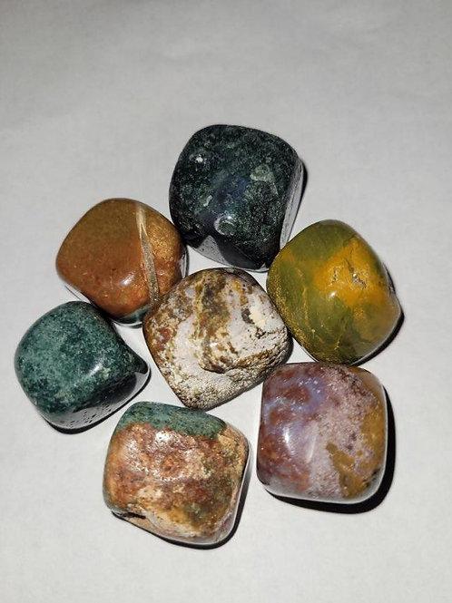 Ocean Jasper Tumble Stones