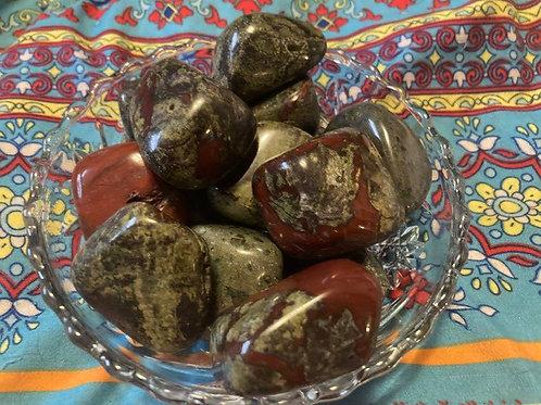 Dragon's Blood Tumble Stones
