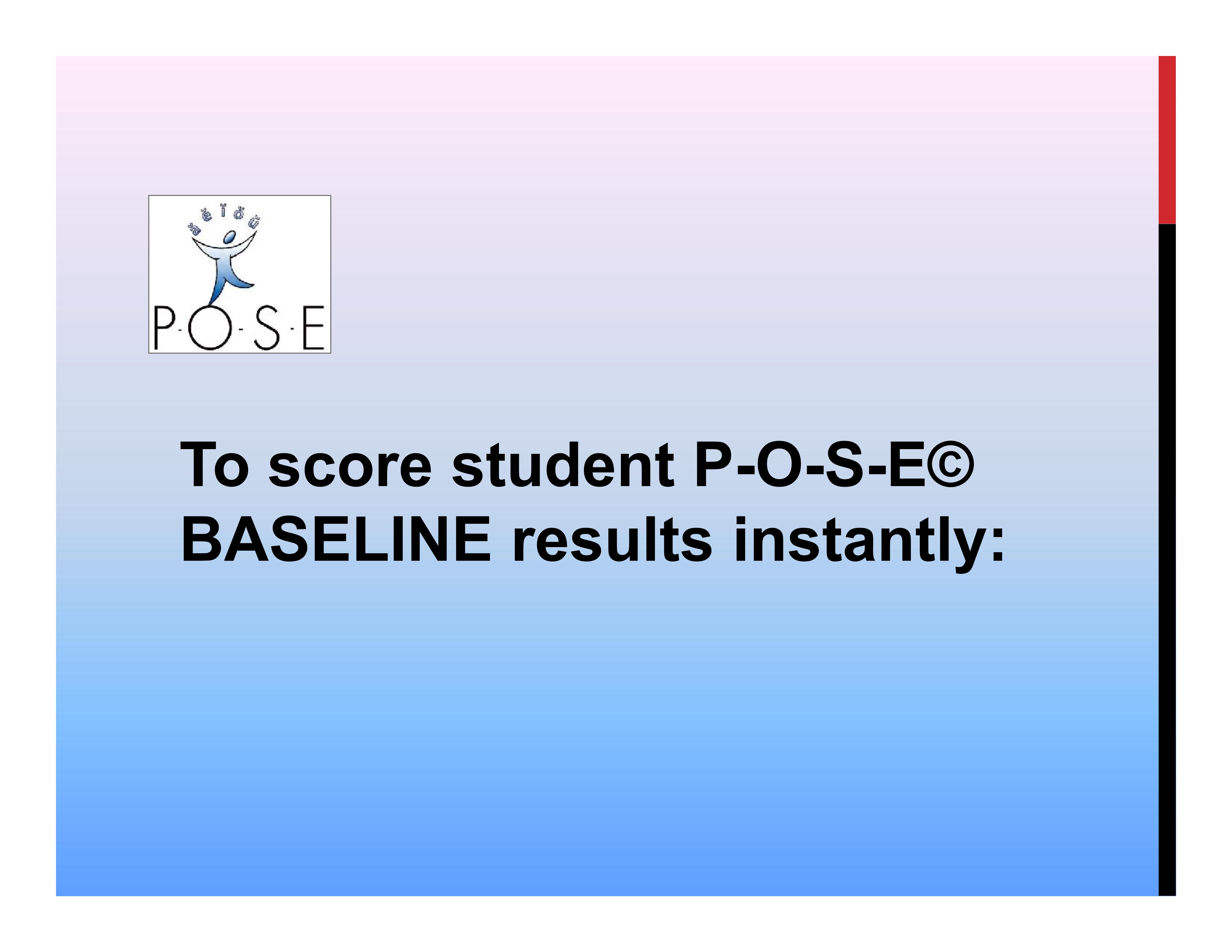 P-O-S-E literacy ELL phonology 2