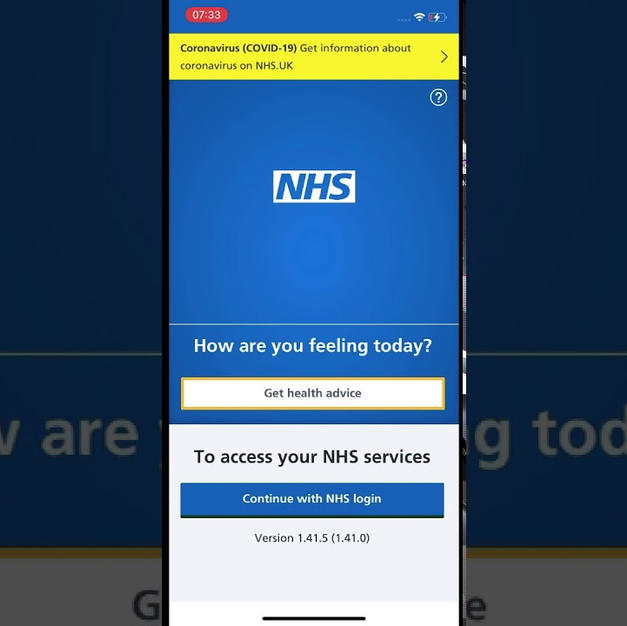 iPhone - download NHS App - begginers guide