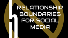 5 Relationship Boundaries for Social Media