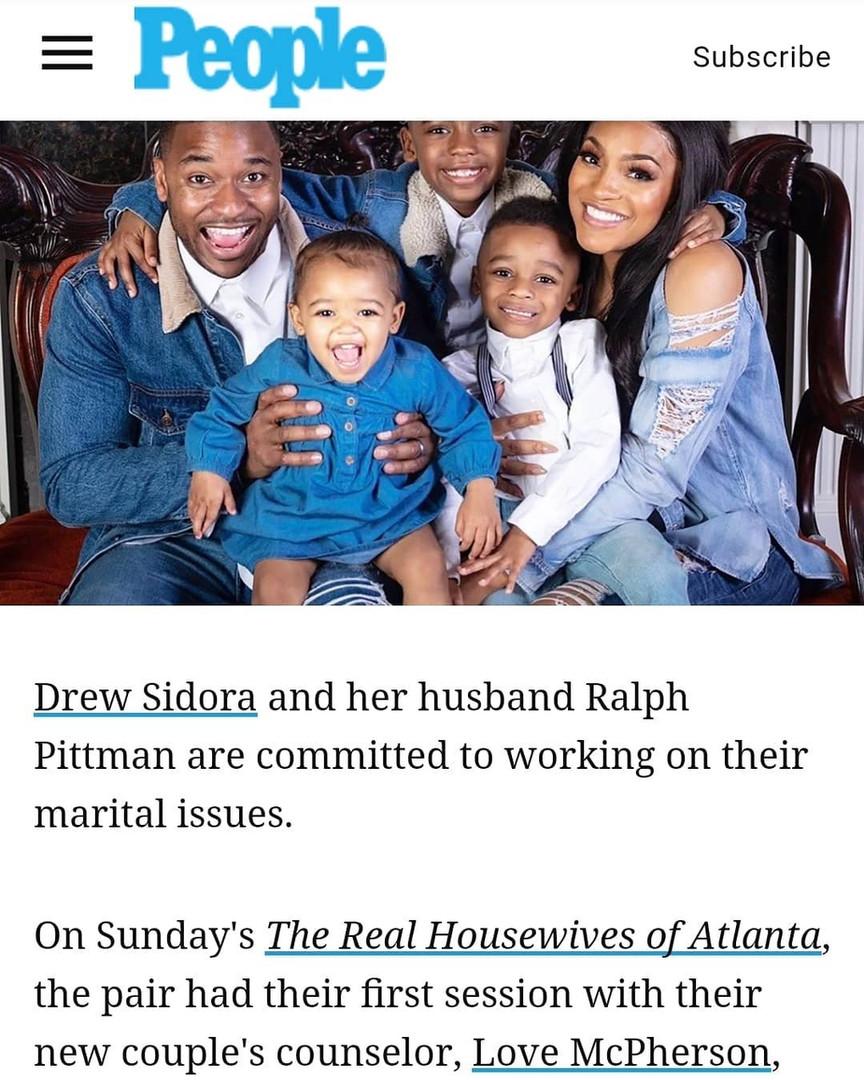 People Magazine with Drew Sidora and Ralph Pittman