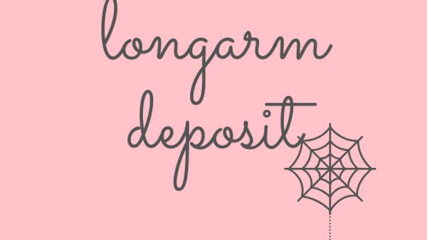 edge-to-edge longarm deposit