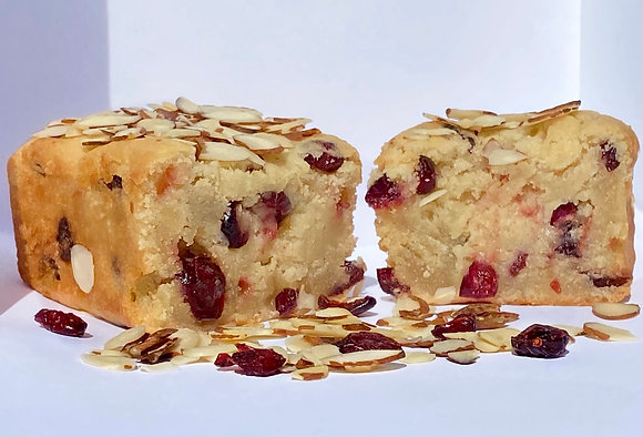 Orange Cranberry Pound Cake (GF)