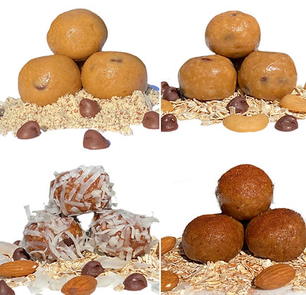PROTEIN BALL BUNDLE - 4 x 6 Packs (Pick any 4 flavors)