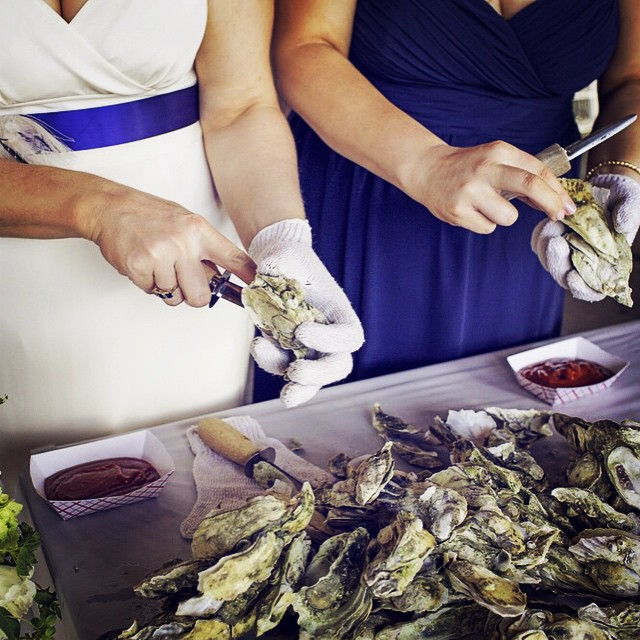 Wedding Shucking