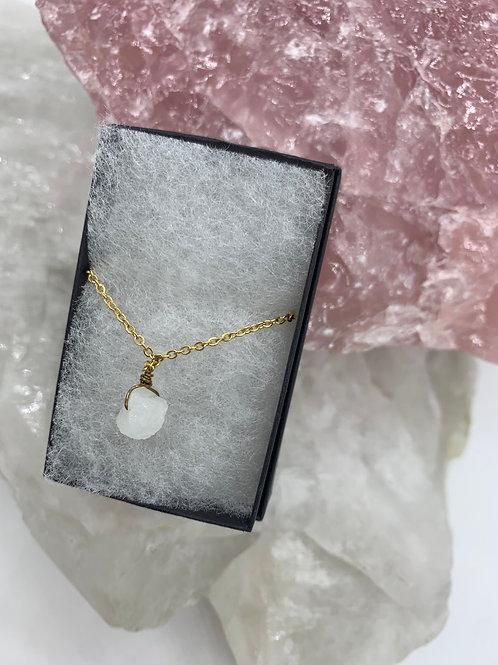 Tiny moonstone