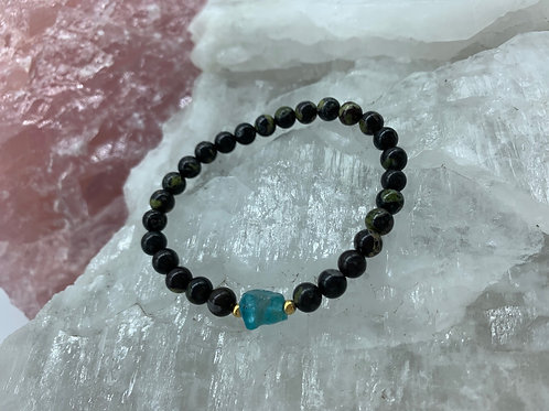 Banded Agate & Apatite